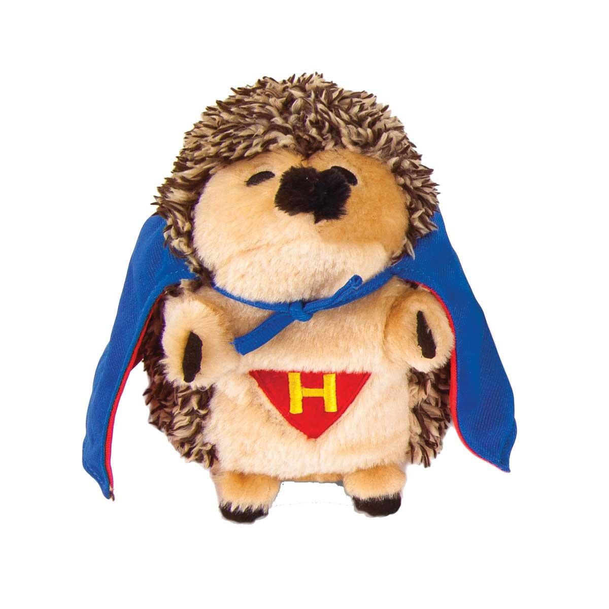 Petmate Stuffed Heggie Super Hero Dog Toy