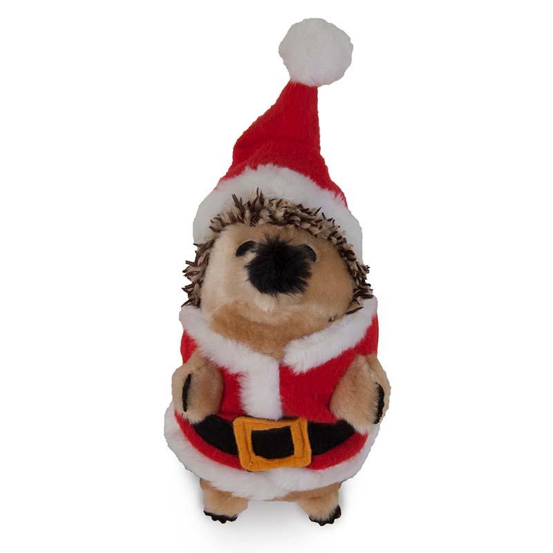 Petmate Holiday Heggie Santa Dog Toy