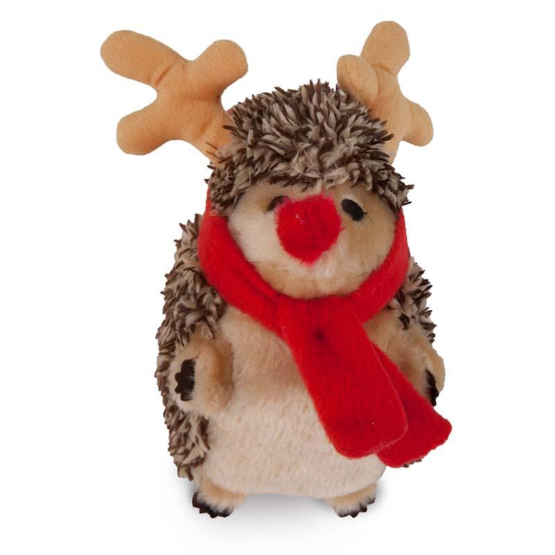Petmate Holiday Heggie Reindeer Dog Toy