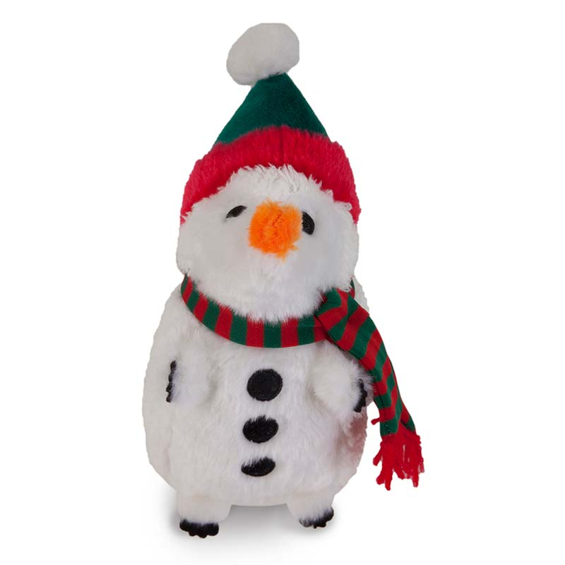 Petmate Holiday Heggie Snowman Dog Toy
