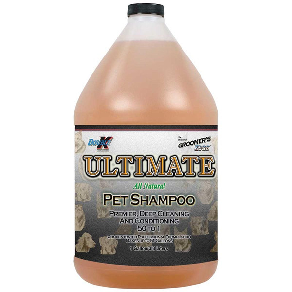 Gallon of Double K Groomer's Edge Ultimate Pet Shampoo - 50 to 1 Concentration