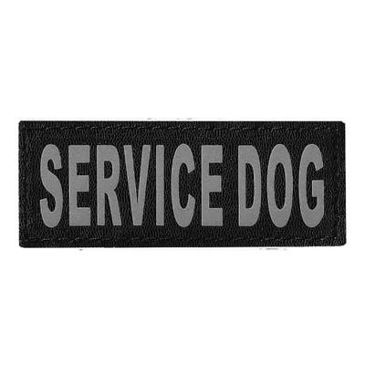 Removable Service Dog Patch 2 Pack