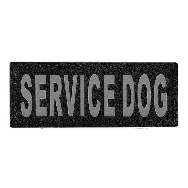 Removable Service Dog Patch 2 Pack