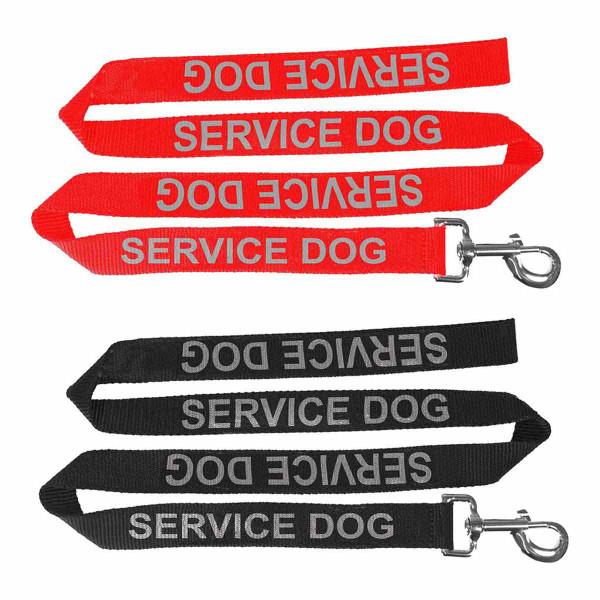 5/8 inch x 4 feet Dogline Reflective Service Dog Leash