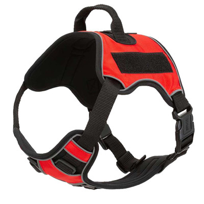 Red XS Quest Multipurpose Dog Harness for Service Dogs
