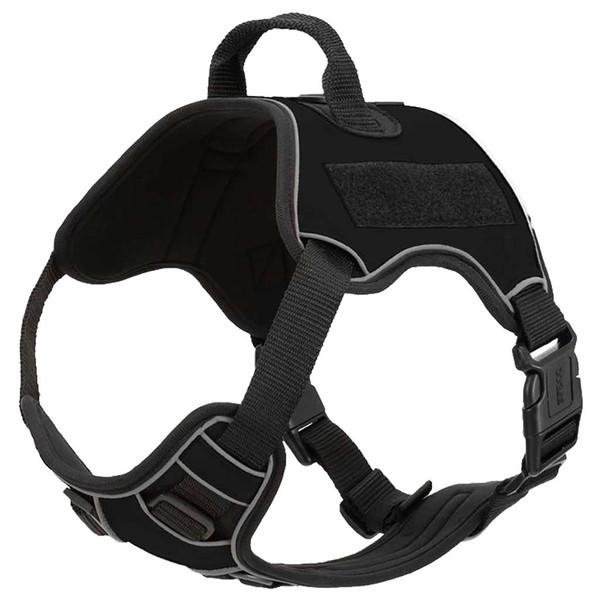 Black Large Quest Multipurpose Dog Harness