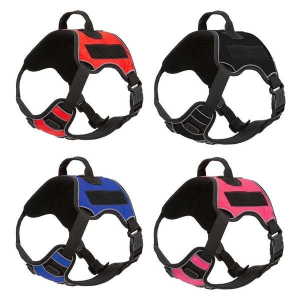 Assorted Colors of XL Quest Multipurpose Dog Harness