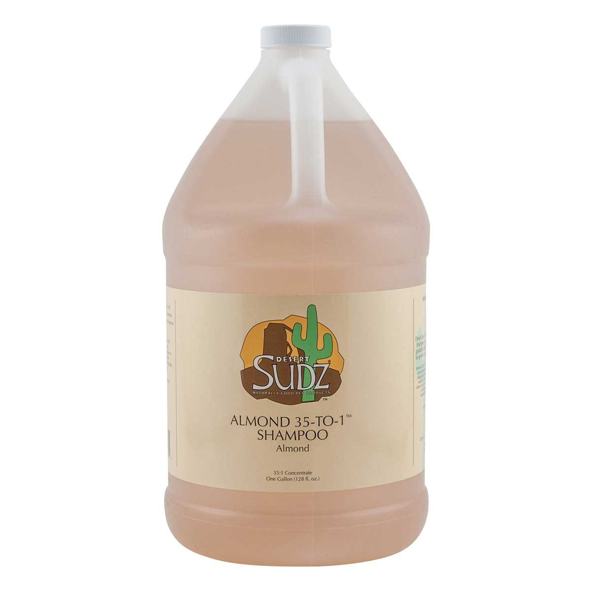 Desert Sudz Almond Concentrated Dog Shampoo Gallon