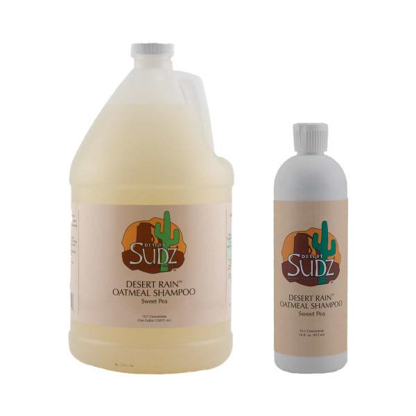 Desert Sudz Desert Rain Sweet Pea Oatmeal Shampoo for dogs