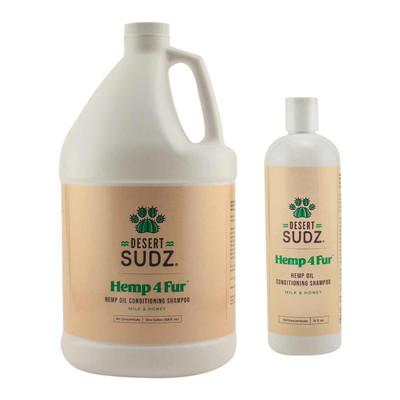 Desert Sudz Hemp4Fur Hemp Oil Milk & Honey Pet Shampoo