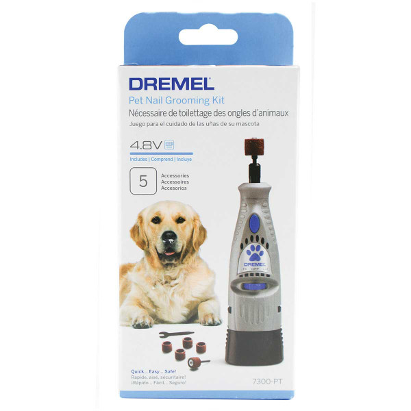 Dremel 4.8-Volt Pet Nail Grooming Kit in Packaging