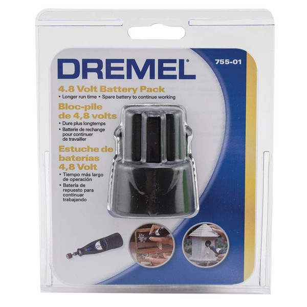 Replacement Battery 4.8V for Dremel Nail Grinder