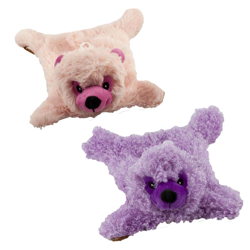 Low Stuffing Dawgeee Toy No Fluff Furry Bear Dog Toy