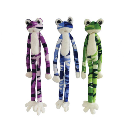 Dawgeee Toys Cool Camo Frog Large 22 inches - Assorted Colors