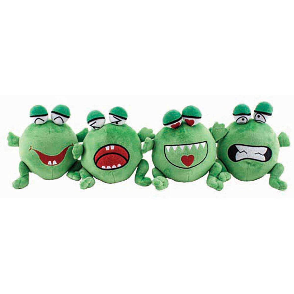 Dawgeee Toys Big Mouth Frog Stuffed Dog Toy at Ryan's Pet Supplies