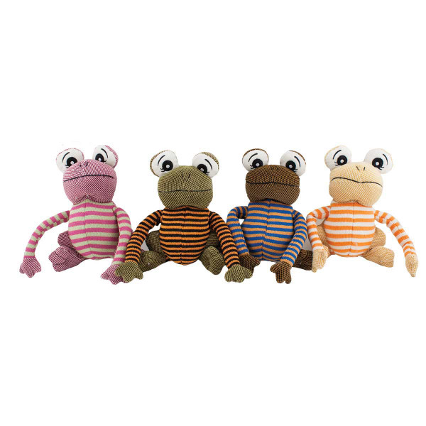 Dawgeee Toys Happy Toad 8 inch Stuffed Dog Toy at Ryan's Pet Supplies