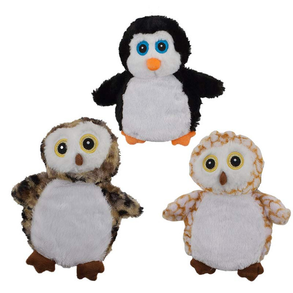 Dawgeee Toys Plush Happy Owl 9 inches - Various Types
