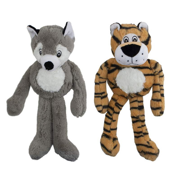 Dawgeee Toys Assorted Long Legged Plush Animals 18 inch