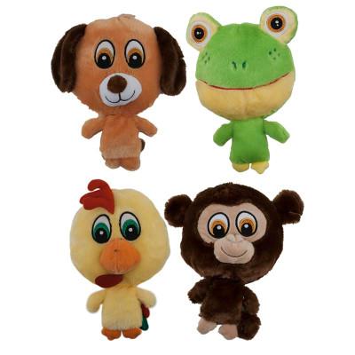 9 inch Dawgeee Toy Big Headed Plush Animals