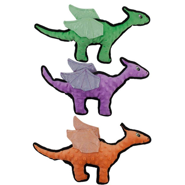 Dawgeee Toy Plush Flying Dino 16 inch - Assorted Colors