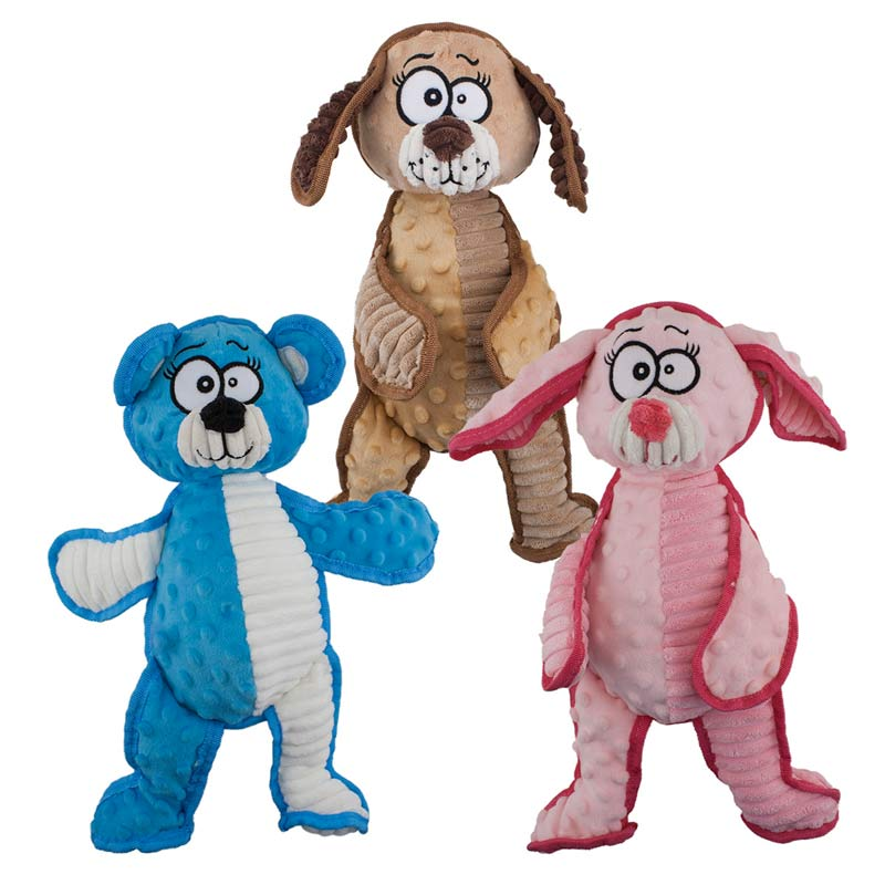 Dawgeee Toy Happy Animals 10 inch for Dogs