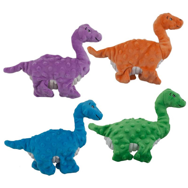 Dawgeee Toy Brantosaurus Dog Toys 10 inches - Various Colors