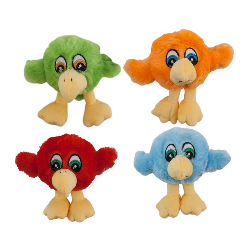 4 inch Dawgeee Toy Assorted Birds - Dog Toys