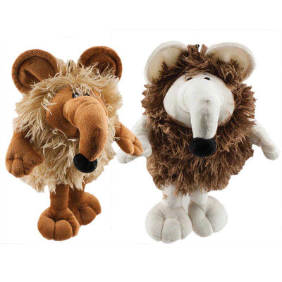 11.75 inch Dawgeee Toys Shaggy Mouse - Squeaker for Dogs