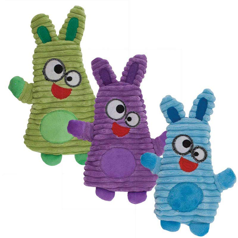 Dawgeee Toy Floppy Rabbits 12 inch for Medium and Larger Sized Dogs