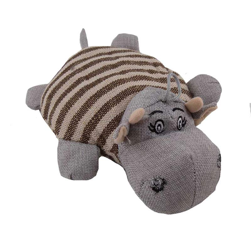 8 inch Dawgeee Toy Assorted Animals - Gray
