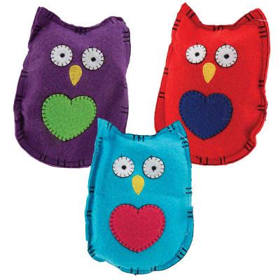 Assorted Dawgeee Toy Owl Head Dog Toys