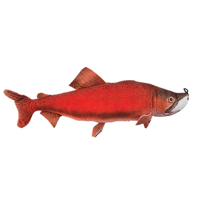 Dawgeee Toy Plush Red Bass 15 inch Dog Toys