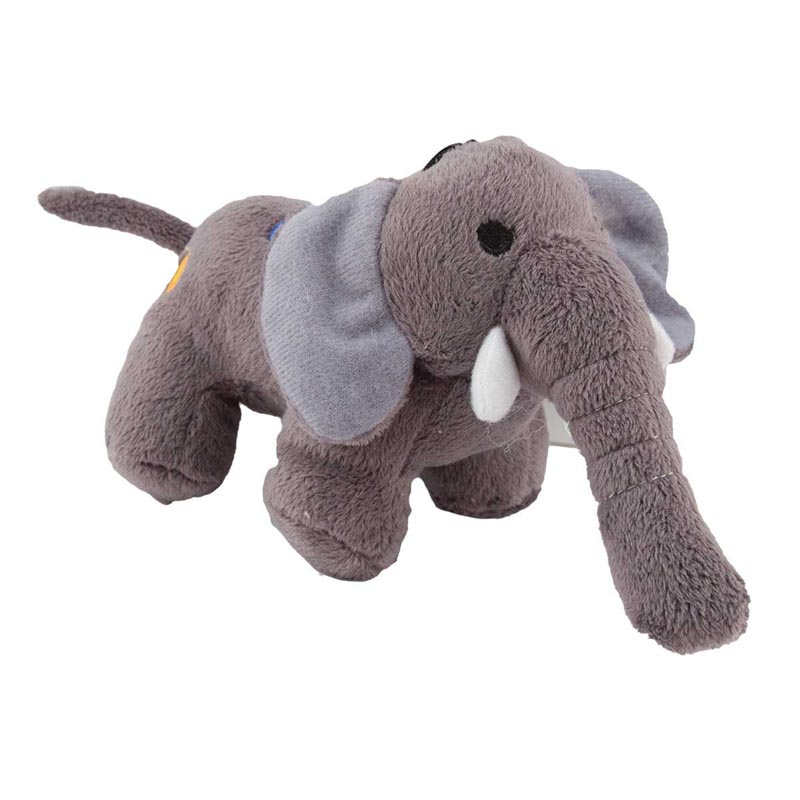 6 inch Dawgeee Toy Plush Elephant Dog Toys