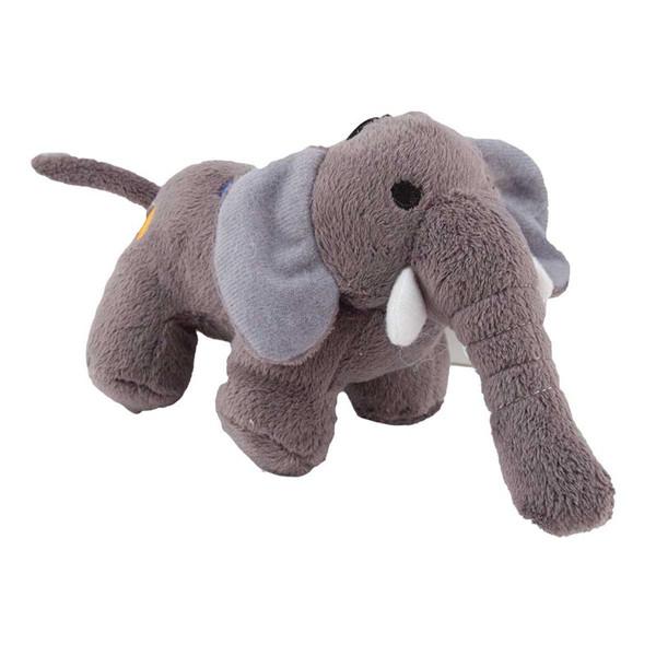 6 inch Dawgeee Toy Plush Elephant Dog Toys
