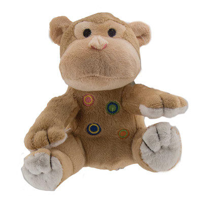 Dawgeee Toy Plush Monkey 6 inch - Dog toys