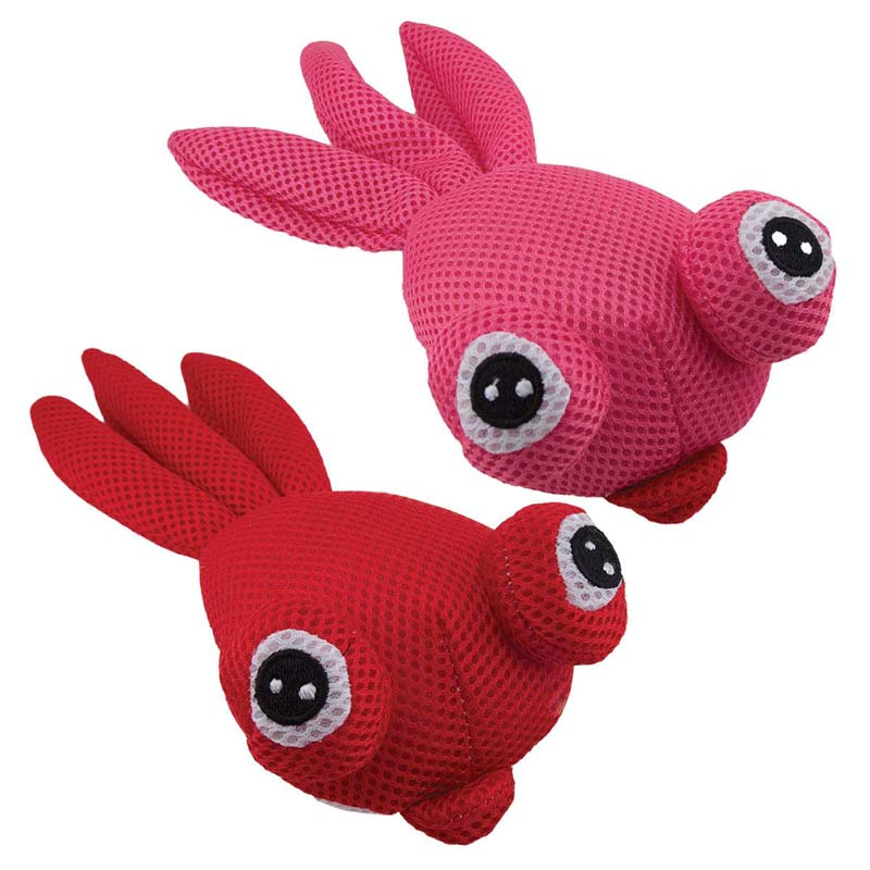 11 inch Dawgeee Toy Big Eyed Plush Goldfish - Various Colors