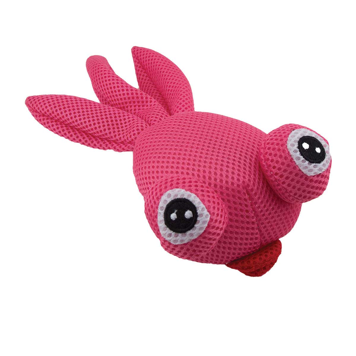 Dawgeee Toy Pink Plush Goldfish Dog Toys - 11 inches