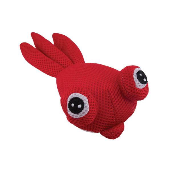 Dawgeee Toy Red Plush Goldfish - 11 inch Dog Toys