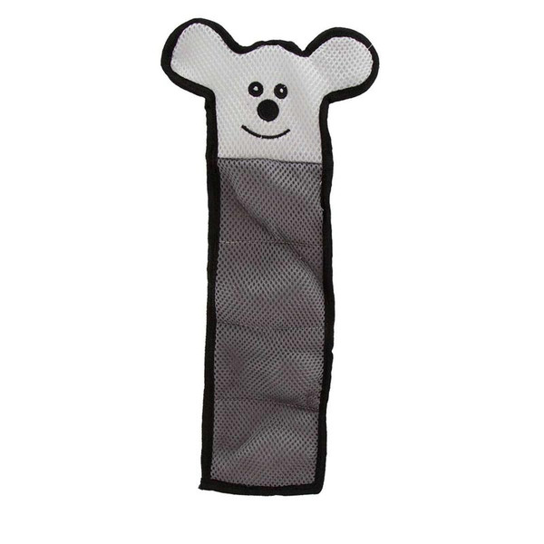 Dawgeee Toy Gray Crinkle Skin Animal Dog Toys - 15 inches