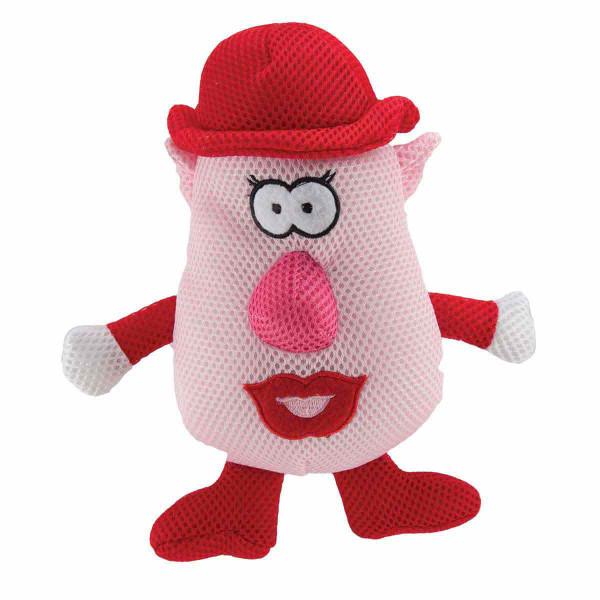 7 inch - Dawgeee Toy Mrs. Spudz Head Plush Toy