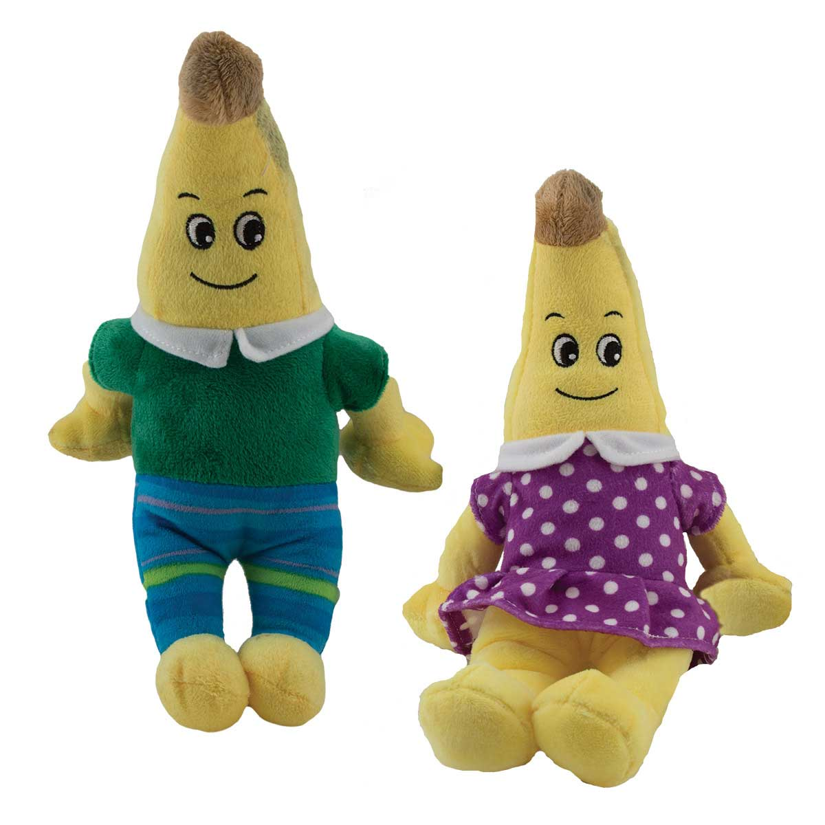 Dawgeee Toy Plush Banana Couple Dog Toys - 13 inches