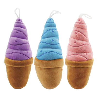 Dawgeee Toy Ice Cream 7 inch Dog Toys