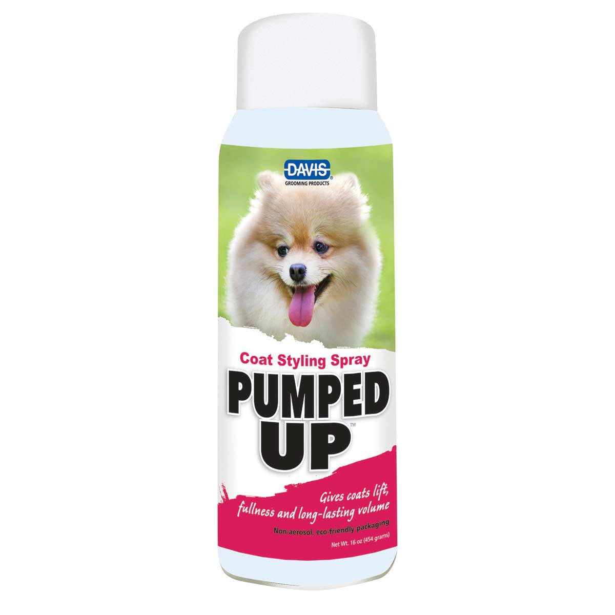 Davis PUMPED UP Coat Styling Spray 16 ounce