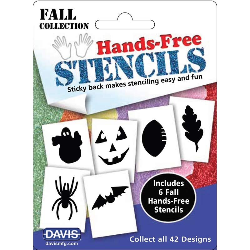Creative Dog Grooming Davis Hands-Free Stencils Fall 6 Pack