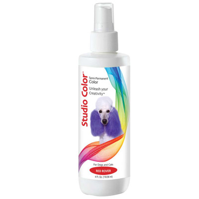 Creative Grooming Davis Studio Color Red Rover Semi-Permanent Dye for Dogs 4 oz