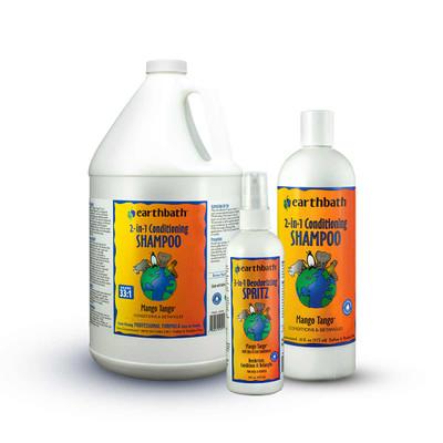 Earthbath Mango Tango Pet Shampoo & Conditioner