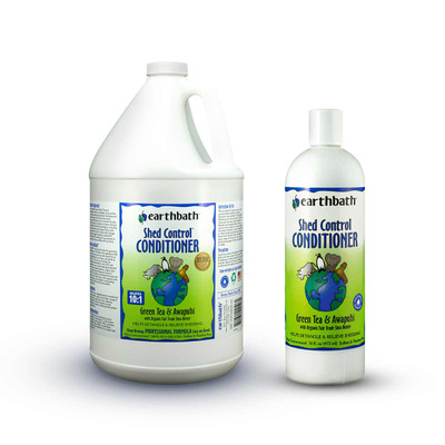 Earthbath Shed Control Conditioner for Dogs