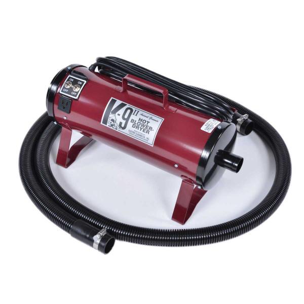 Burgundy K-9 II High Velocity 2-Motor Dryer for grooming
