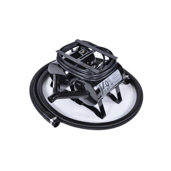 Black K-9 III High Velocity Grooming Dryer