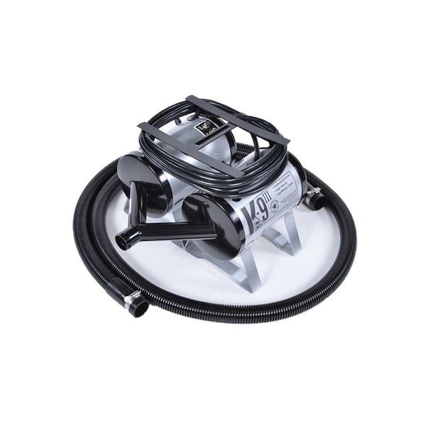 Silver K-9 III High Velocity Dual Motor Grooming Dryer